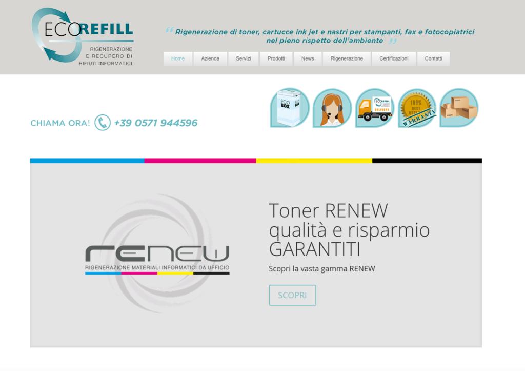 homepage ecorefill.eu