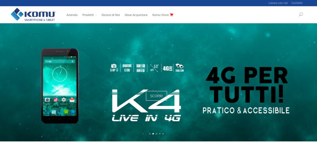 Homepage Komu.it